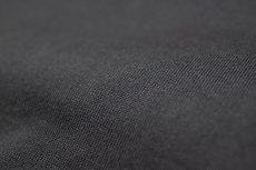 画像10: インド超長綿天竺タック衿Tシャツ|ブラック (10)