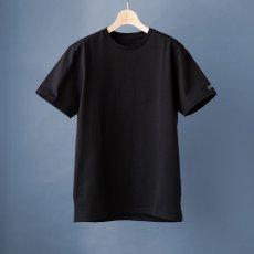 画像4: インド超長綿天竺タック衿Tシャツ|ブラック (4)