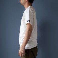 画像2: インド超長綿天竺タック衿Tシャツ|ホワイト (2)