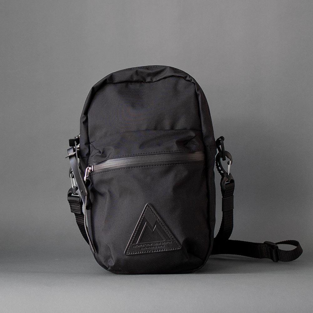 画像1: 3H SHOULDER BAG BLACK (1)
