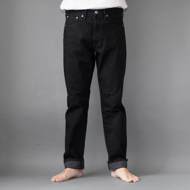 画像1: 5Pocket Jeans Regular fit|BLACK (1)
