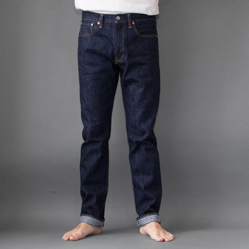 画像1: 5Pocket Jeans Slimfit|INDIGO (1)