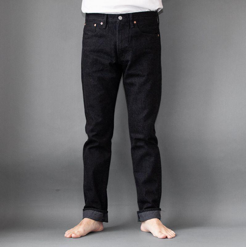 画像1: 5Pocket Jeans Slimfit|BLACK (1)