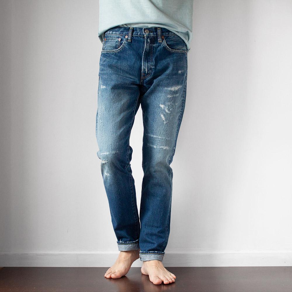 画像1: 5Pocket Jeans Slimfit 15yaer (1)