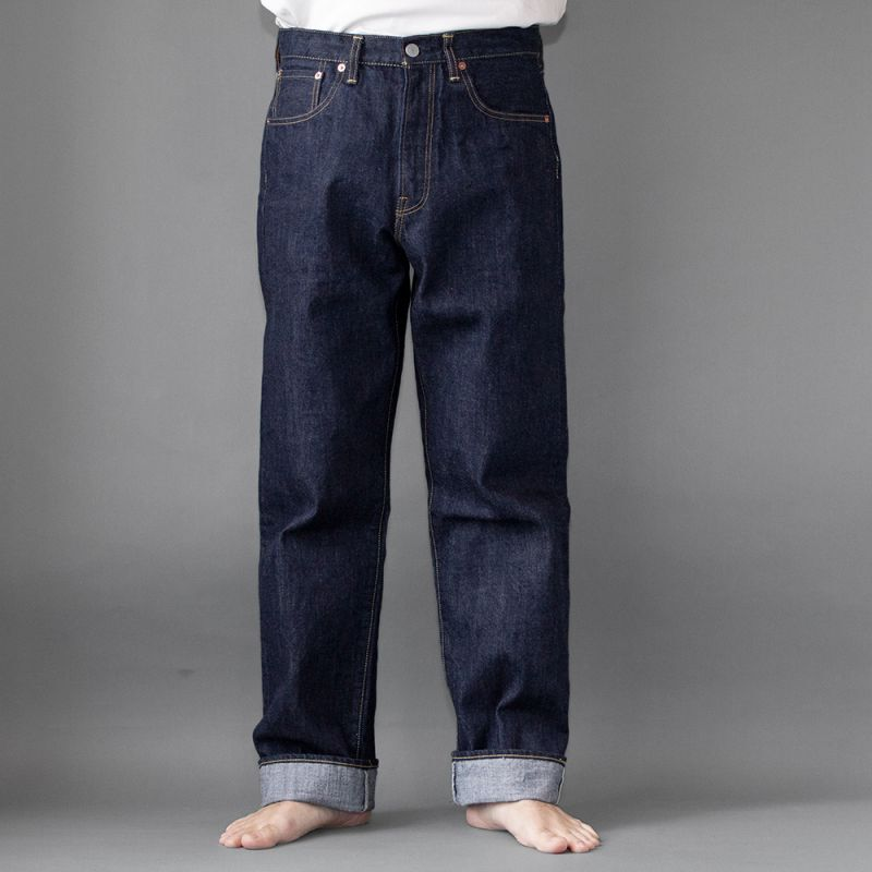 画像1: 5Pocket Jeans widefit|INDIGO (1)