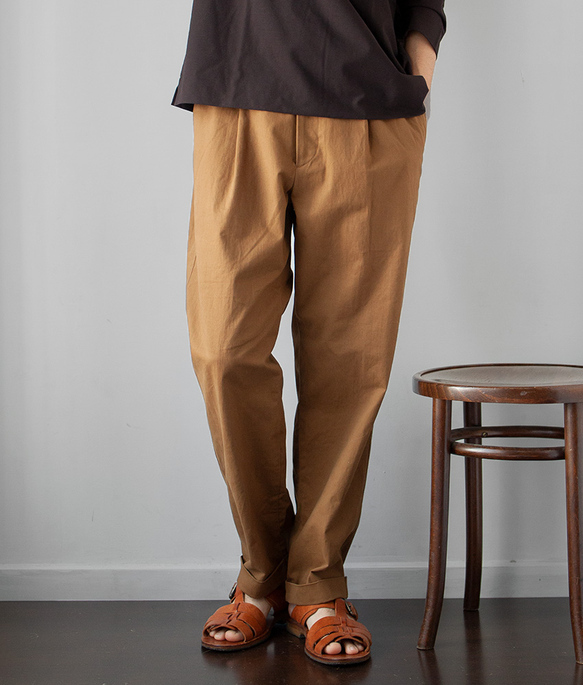 画像1: comm.arch. ORGANIC COTTON CHINO|GOLDEN FOX (1)