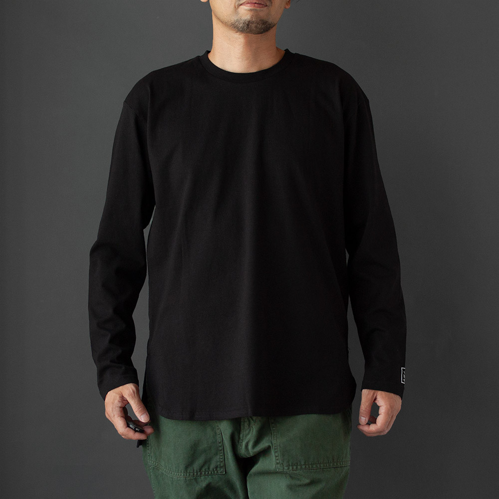 画像1: Long Sleeve Tee|black (1)