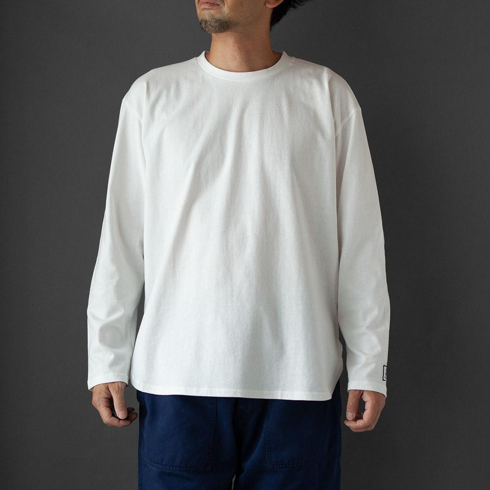 画像1: Long Sleeve Tee|white (1)
